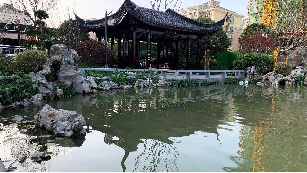 名河雅居景观池水处理工程案例