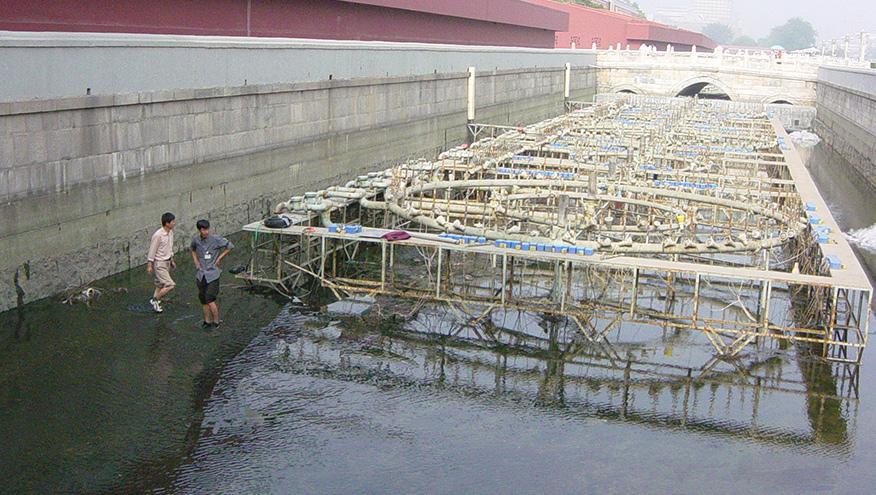 天安门金水河水处理工程-佳业佳境工程案例