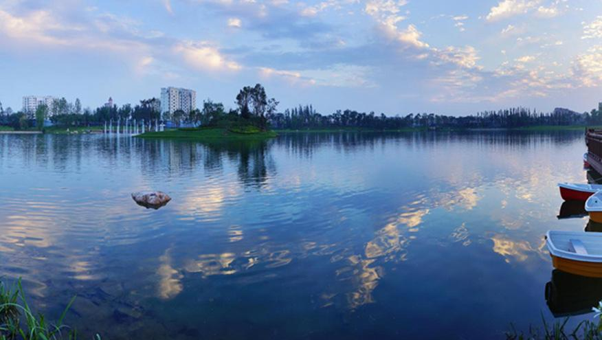 永定河孔雀城大湖水处理工程-佳业佳境工程案例