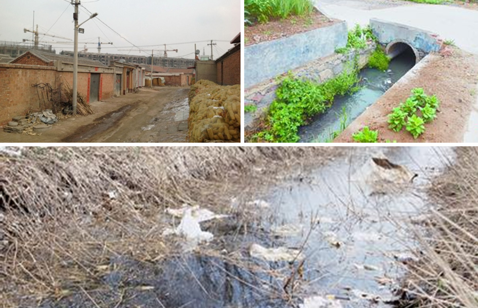 微生态活水(HDP)接触氧化生态塘
