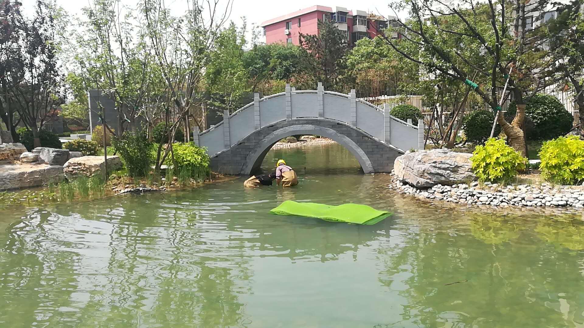 北京佳兆业项目代征公园人工湖水处理系统工程