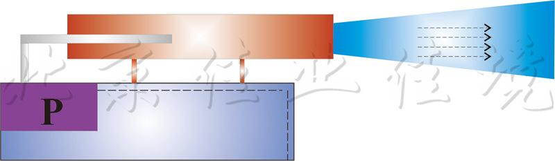河湖水质原位净化机的示意图