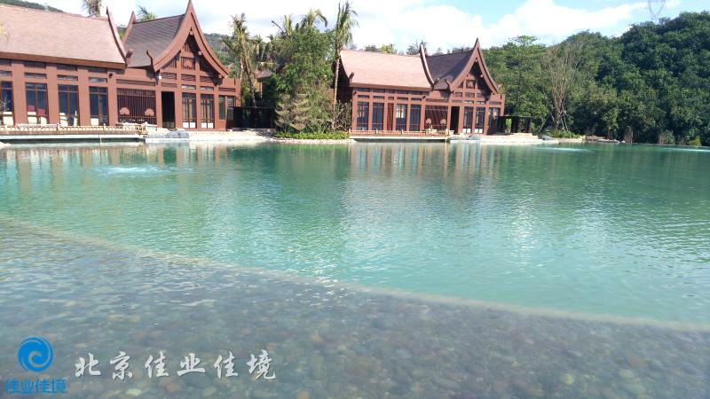 万达西双版纳国际度假区酒店群人工湖水处理-佳业佳境工程案例