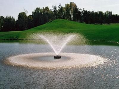 浮水式喷泉曝气机